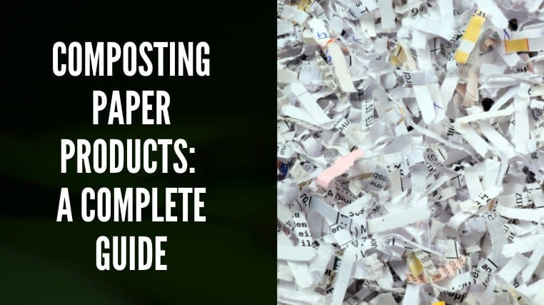 Composting Paper Products