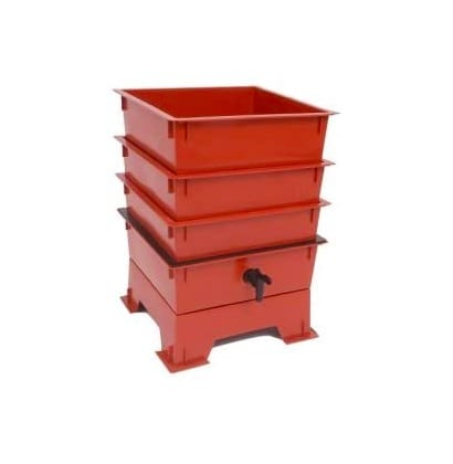 Worm Factory DS3BT 3-Tray Worm Composter