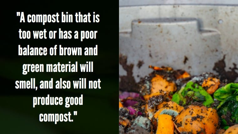 Bin for apartment composting