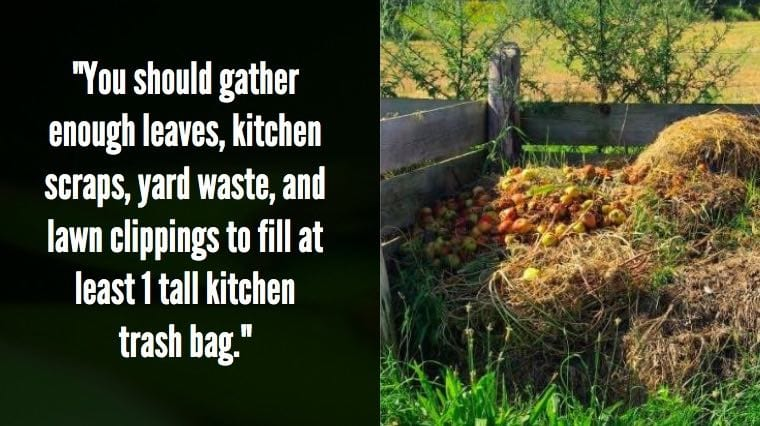 What is the compost pile method